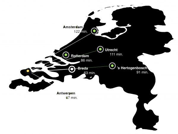 kaart De Woongaard 2.0
